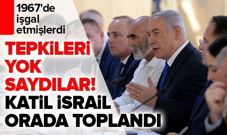 İSRAİL TEPKİLERİ YOK SAYDI!