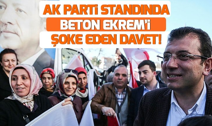 Vatandaştan Beton Ekrem'e 'AK Parti'ye gelin' daveti