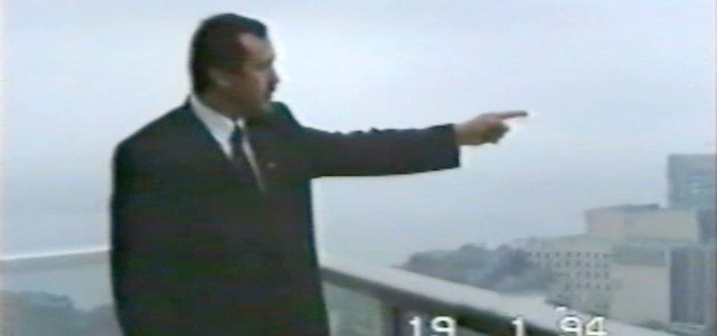 BAŞKAN ERDOĞAN 1994 YILINDA, 'ŞURAYA CAMİ YAPACAĞIZ' DEMİŞTİ! İŞTE 25 YIL ÖNCEKİ O GÖRÜNTÜLER...
