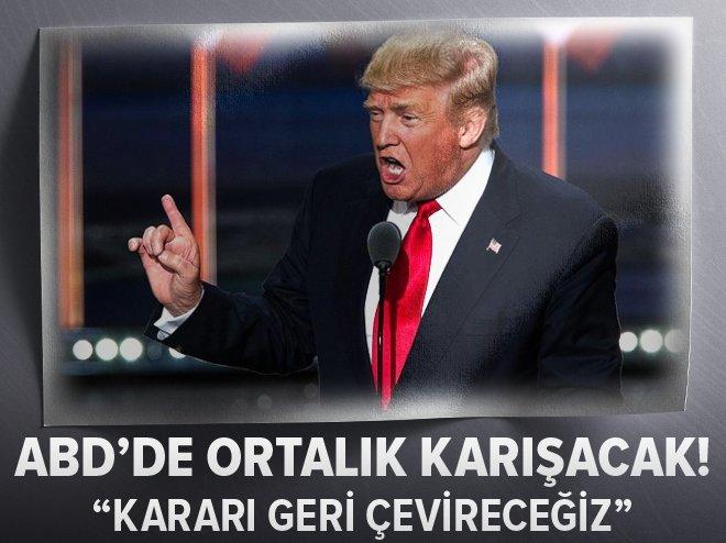 TRUMP'TAN O YARGICA AĞIR ELEŞTİRİ!