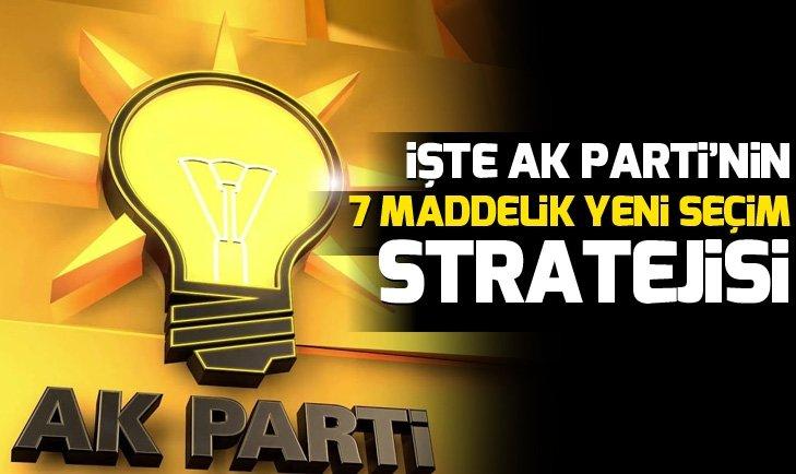 AK PARTİ'DEN 7 MADDELİK TEDBİR
