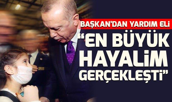 KALP HASTASI CEMRE'NİN ERDOĞAN'DAN İSTEĞİ...