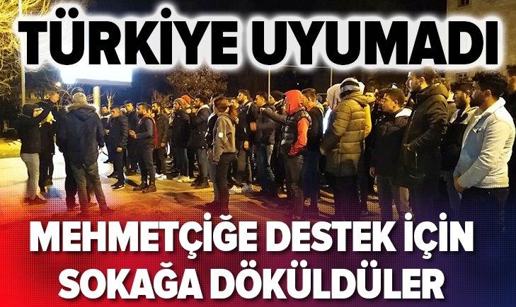İDLİB'DEN GELEN ŞEHİT HABERLERİNİN ARDINDAN TÜRKİYE SOKAKLARA DÖKÜLDÜ