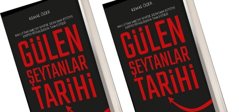 'GÜLEN ŞEYTANLAR TARİHİ' KİTABI ÇIKTI