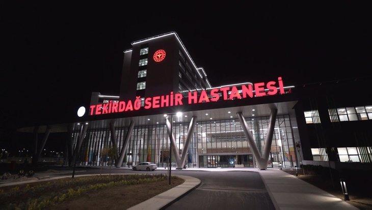 Başkan Erdoğan açacak! Tekirdağ Şehir Hastanesi Balkanlar'ın sağlık üssü olacak...