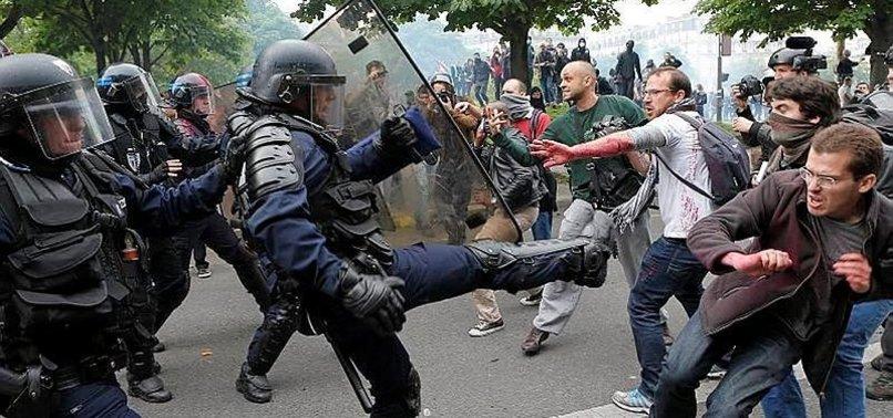 FRANSA'DAKİ GREV 4 AVRUPA ÜLKESİNİ ETKİLİYOR