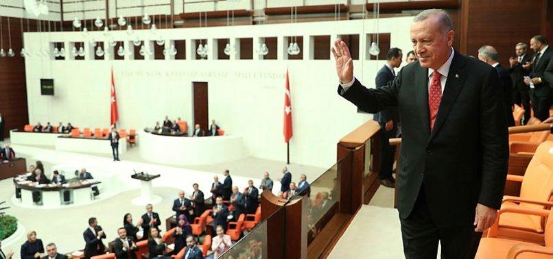 Son dakika: Başkan Erdoğan TBMM'den ayrıldı