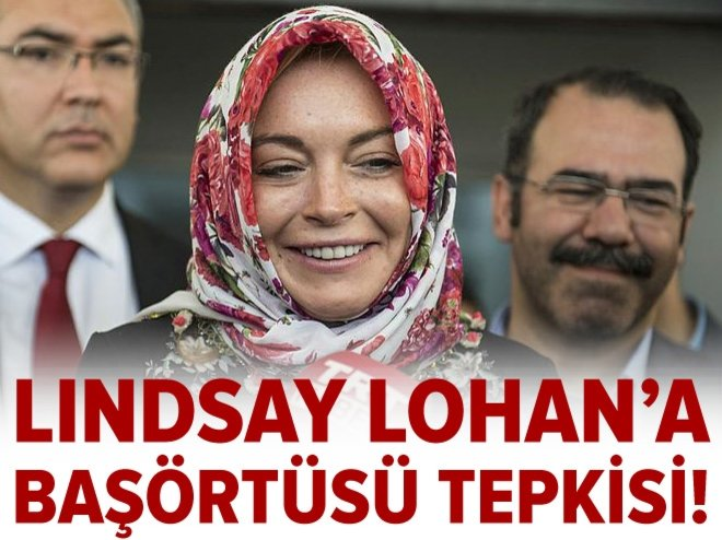 LİNDSAY LOHAN'A HEATHROW'DA AYRIMCILIK
