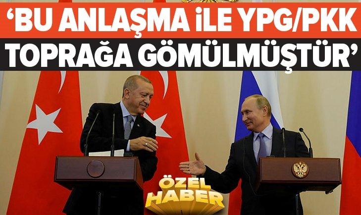 BU ANLAŞMA İLE PKK TOPRAĞA GÖMÜLMÜŞTÜR