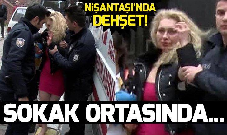 RUS KADINI SOKAK ORTASINDA DARP ETTİ