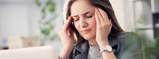 Baş ağrısı için 10 doğal çözüm