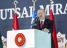 Son dakika: Tarihi zaferin 949. yılı kutlanıyor! Başkan Erdoğandan Malazgirtte önemli açıklamalar