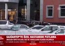 Gaziantep'te özel bir hastanede patlama! İşte ilk görüntüler