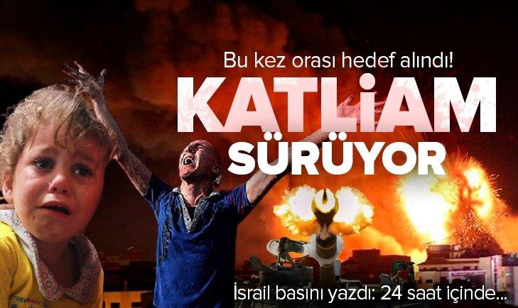 İsrail katletmeye dünya izlemeye devam ediyor!