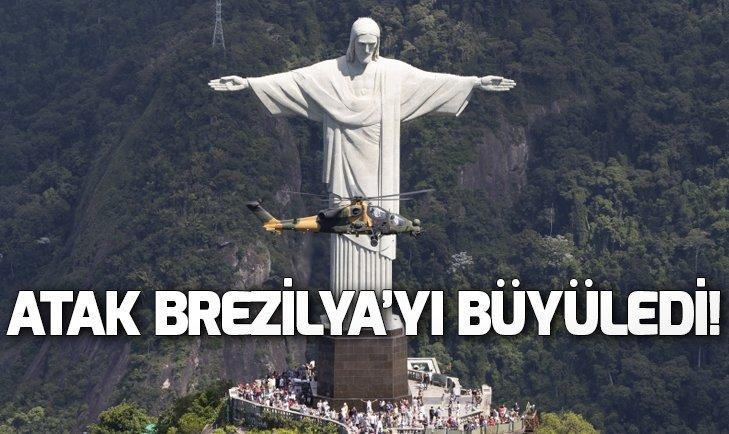 Atak helikopteri Brezilya'yı fethetti!