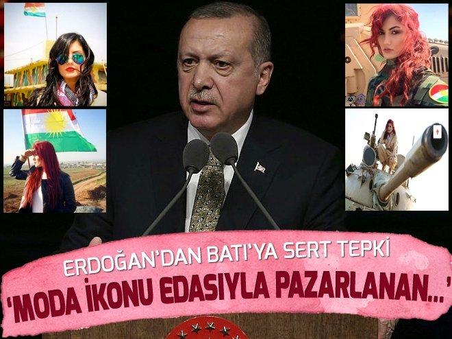 ERDOĞAN'DAN BATI MEDYASINA SERT TEPKİ
