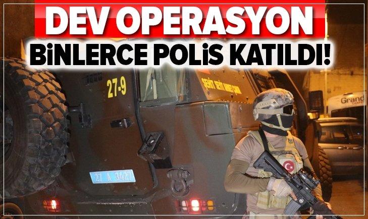 GAZİANTEP'TE HELİKOPTER DESTEKLİ UYUŞTURUCU OPERASYONU!