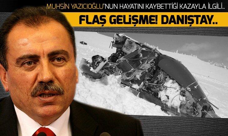 Yazıcıoğlu davasında flaş gelişme Danıştay...