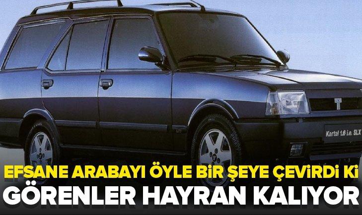 1996 MODEL KARTAL'I ÖYLE BİR ŞEYE ÇEVİRDİ Kİ! TEKLİF YAĞIYOR...
