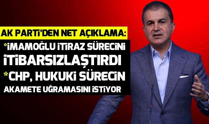 SON DAKİKA: AK Parti'den kritik seçim ve itiraz süreci açıklaması