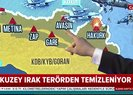 Kuzey Irak teröristlerden temizleniyor! Pençe Harekatı'nda son durum |Video