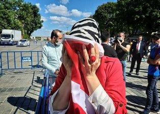 Ayasofya Camii'nde sevinç gözyaşları!