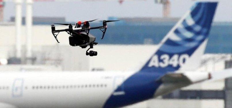 LONDRA'DA HAVALİMANINDA DRONE KRİZİ!