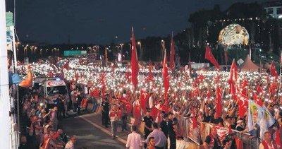Demokrasi nöbeti hiç bitmeyecek! 3 bin etkinlik gerçekleştirilecek...