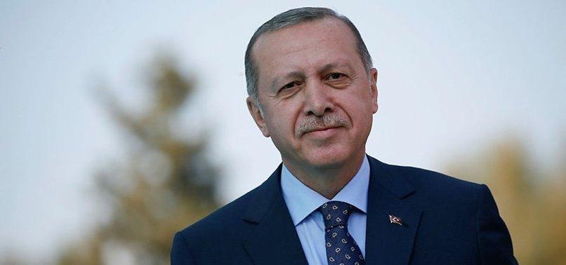 BAŞKAN ERDOĞAN'DAN MİLLİ SPORCUYA TEBRİK