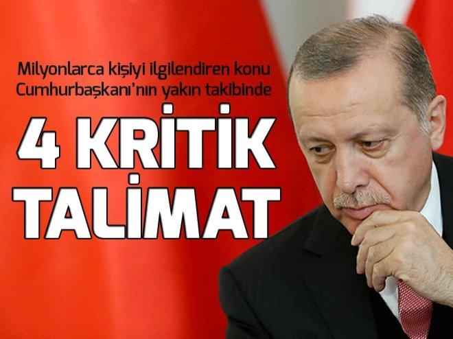 Cumhurbaşkanı Erdoğan'dan YKS için 4 talimat