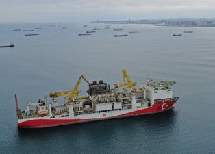 'Fatih' sondaj gemisi harekete hazır! Platform söküldü