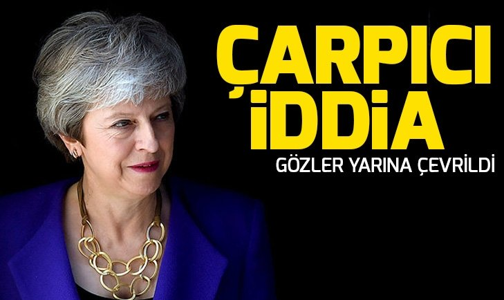 THE TİMES GAZETESİNDEN THERESA MAY İDDİASI