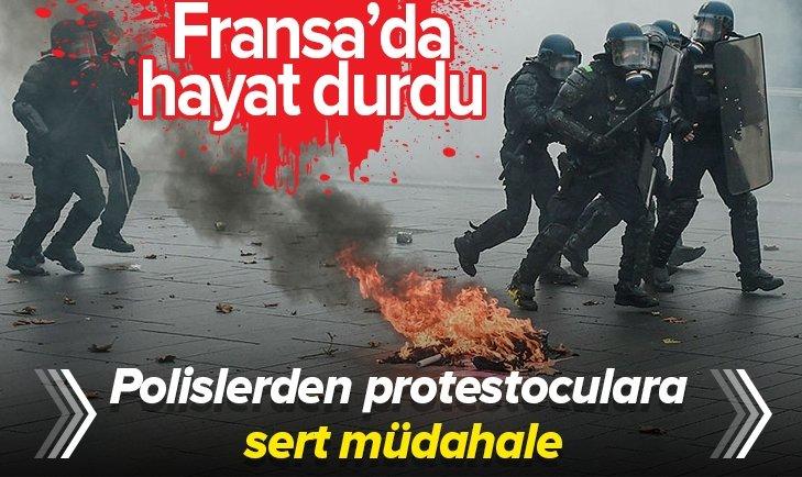 FRANSA'DA HAYAT DURDU!