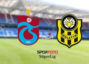 Trabzonspor Yeni Malatyaspor maçı saat kaçta, hangi kanalda? Trabzonspor Malatyaspor muhtemel 11'ler