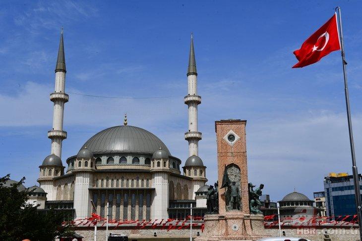 Taksim Camisi bugün açılıyor! Türkiye ve dünyada sayılı uygulama