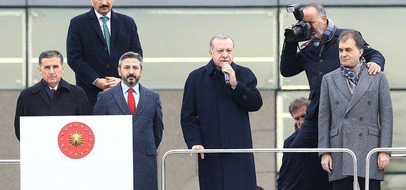 CUMHURBAŞKANI ERDOĞAN'DAN TRUMP'A KUDÜS TEPKİSİ