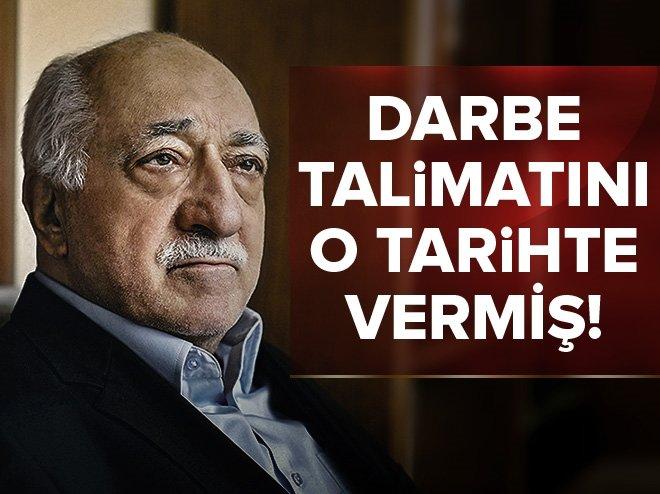 FETÖ 4 ŞUBAT 2016'DA DARBE TALİMATINI VERMİŞ!