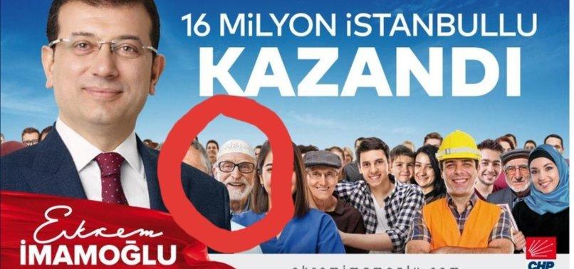 İMAMOĞLU'NUN ÇALINTI POSTERİNE SKANDAL SAVUNMA!