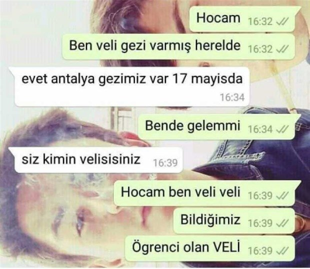 WhatsApp kızına mesaj geldi... Türkiye bir genç ve sevgilisinin babasının sohbetini konuşuyor