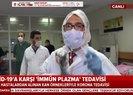 Türkiyede ilk kez yapılan immün tedavisi A Haber canlı yayınından aktarıldı