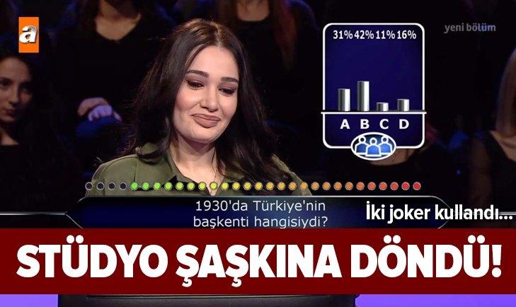 MİLYONER'DE ŞAŞKINA ÇEVİREN BAŞKENT SORUSU!