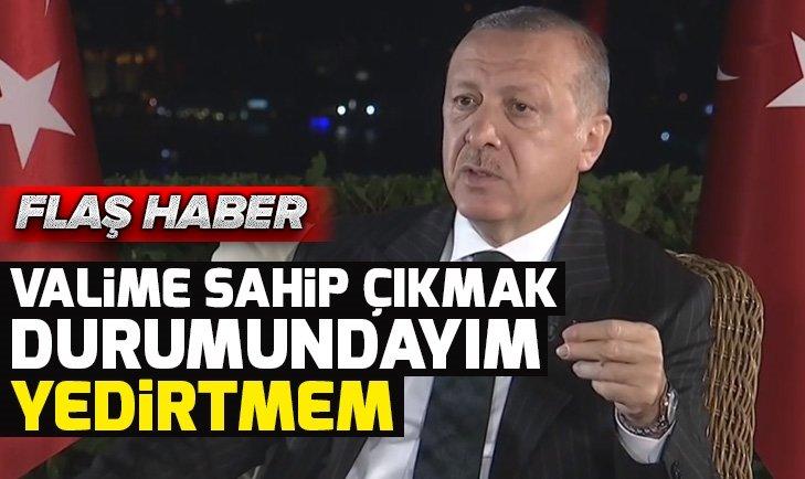 Başkan Erdoğan'dan valiye küfür eden İmamoğlu'na tepki