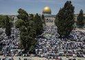 MESCİD-İ AKSA'DA YÜREKLERİ TİTRETEN ANLAR