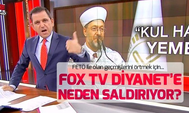 FOX TV Diyanet Başkanını neden hedef aldı?