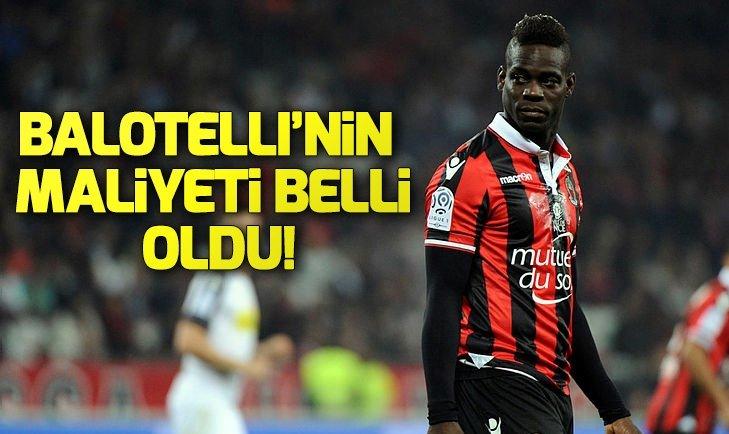 BALOTELLİ'NİN MALİYETİ BELLİ OLDU!