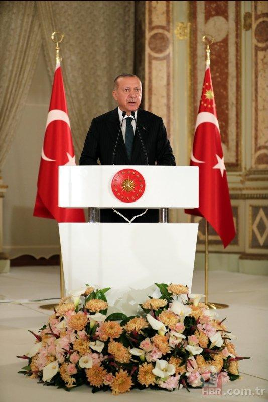 Başkan Erdoğan sanatçı ve sporcularla iftarda bir araya geldi