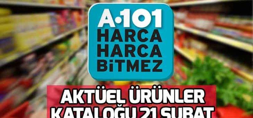 A101 21 ŞUBAT İNDİRİMLERİ TAM LİSTE!