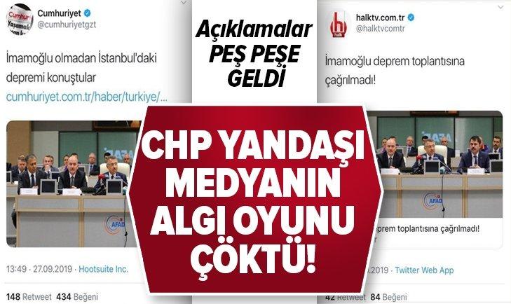 CHP yandaşı medyanın 'mağduriyet' oyunu çöktü!