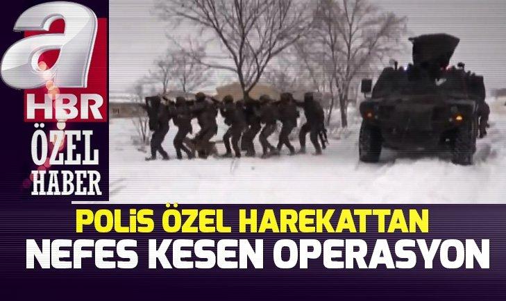 ÖZEL HAREKAT POLİSLERİ NEFESLERİ KESTİ