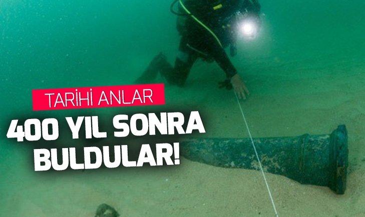 Deniz altındaki enkaz 400 yıl sonra bulundu